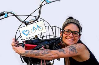 Eine Liebeserklärung ans Fahrrad beim Streetcasting »We love Radl«