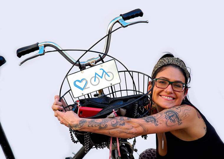 Eine Liebeserklärung ans Fahrrad beim Streetcasting ?We love Radl?