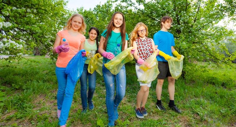 Nachhaltige Bildungsarbeit für langfristige Abfallvermeidung