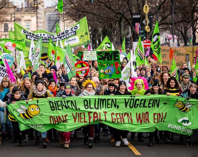Wir haben es satt! Demo - Schluss mit falscher Agrarpolitik