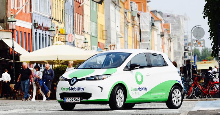 Car-Sharing mit Elektroautos ist eine optimale Lösung