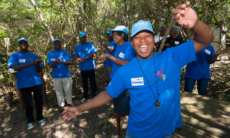 Seit 2001 hat die Wohltätigkeitsorganisation ?Children in the Wilderness? jährlich mehr als 2500 unterprivilegierte Kinder in den entlegensten Gebieten im südlichen Afrika gefördert.