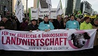 Demonstration gegen Agrarindustrie zieht 30.000 Menschen an