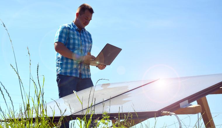 Im vergangenen Jahr gehörte der ?Eine Welt Solar Kollektor? zu den Gewinnern in der Kategorie Produkt