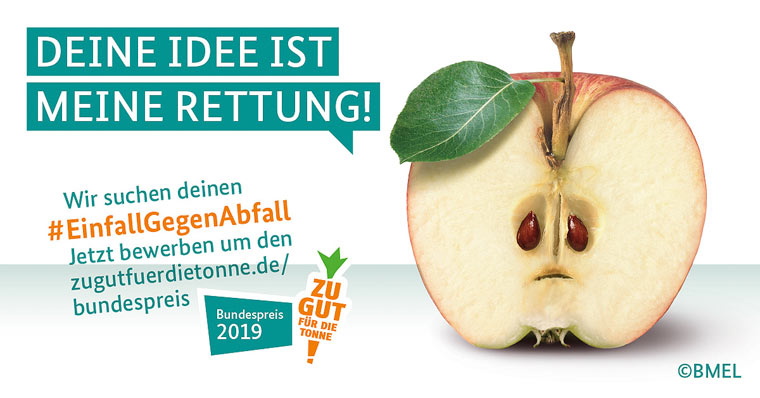 Ehrung für nachhaltigen Umgang mit Lebensmitteln