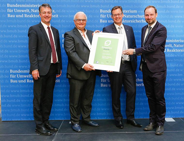 Green Tec Award 2016 - Preisträger