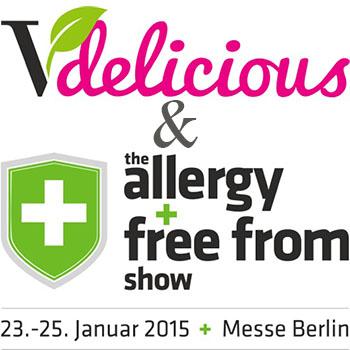 Vdelicious & the allergy + free from show neu auf der Grünen Woche Berlin 2015