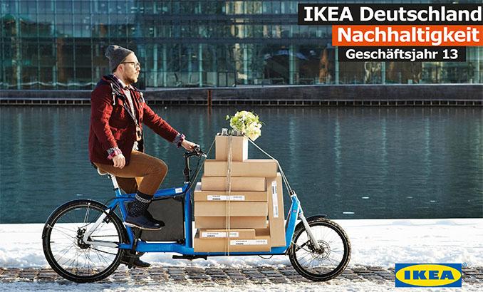 Der Nachhaltigkeitsbericht des Geschäftjahres 2013 von © IKEA Deutschland