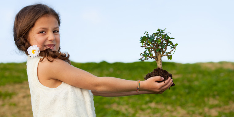 Die Jugend gestaltet die Umwelt von morgen. Daher soll sie nun den Umgang mit Natur und Konsum kennenlernen.