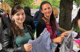 Kleider ausmisten, Klima schützen, Party