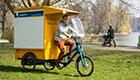 Moderne Lastenfahrräder machen Citylogistik nachhaltiger