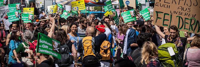 München marschiert und alle dürfen mitmachen. © Günther Strauß