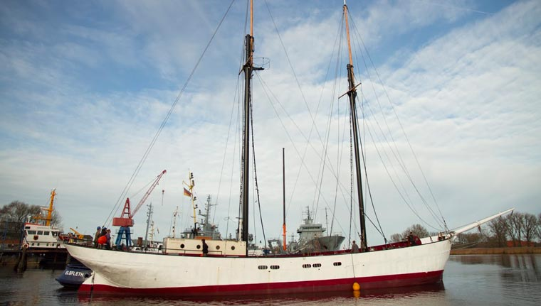 Die Avontuur soll zur Botschafterin für nachhaltige Schifffahrt werden