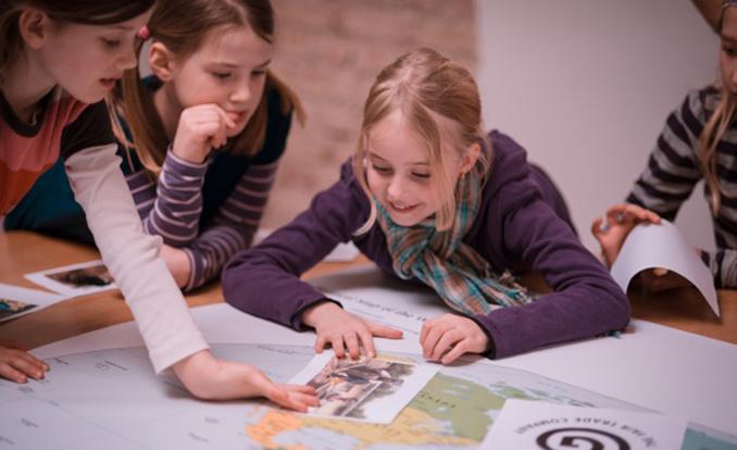 Green City veranstaltet mit Kindern Schokotag