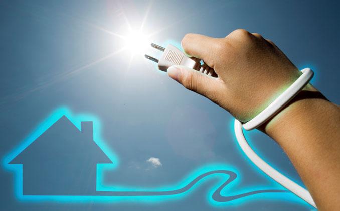 Energie aus Sonnenlicht ist eine gute Alternative zu Erdgas © bernie_moto (iStock / thinkstockphoto)