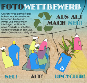 Upcycling Fotowettbewerb