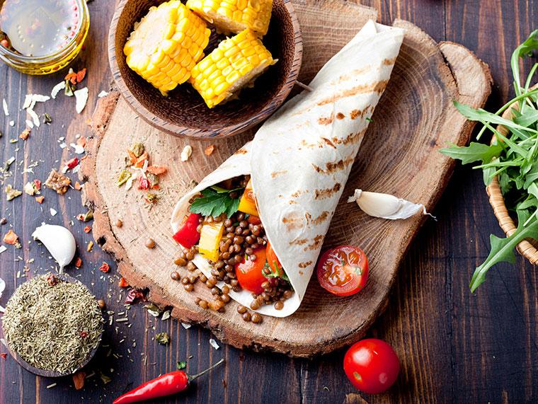 Fast food - Ranking vegan und vegetarisch.