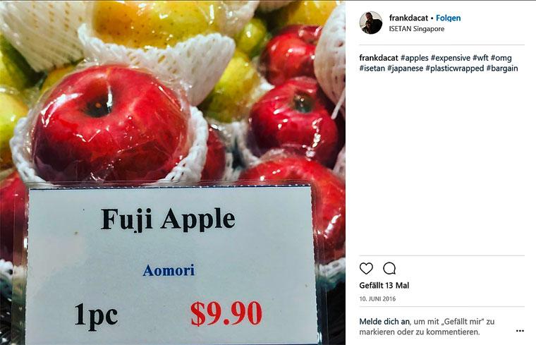 Plastikäpfel