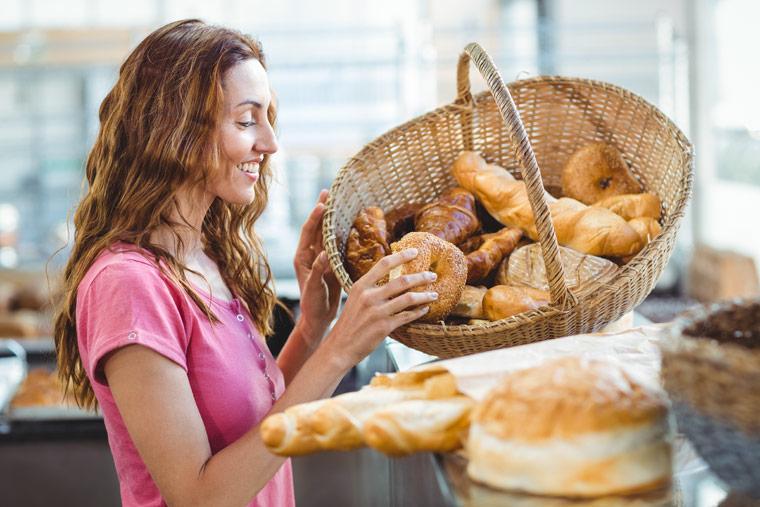 Eine Fahrt zum Bäcker kostet 8 Brötchen