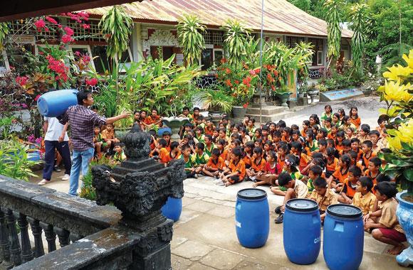 Ingenieure verbessern Müllentsorgung in Indonesien