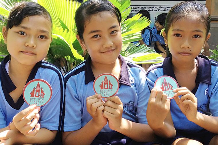 Plastiktüten-Verbot auf Insel Bali