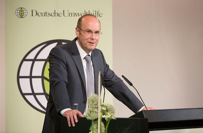 DUH Bundesvorsitzender Harald Kächele