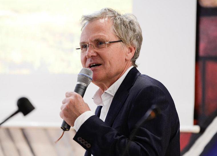 Dr. Gunther Tiersch vom ZDF.