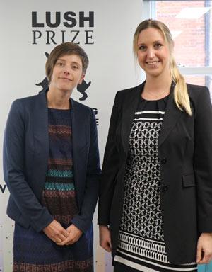 Deutsche Wissenschaftlerinnen beim Lush Prize