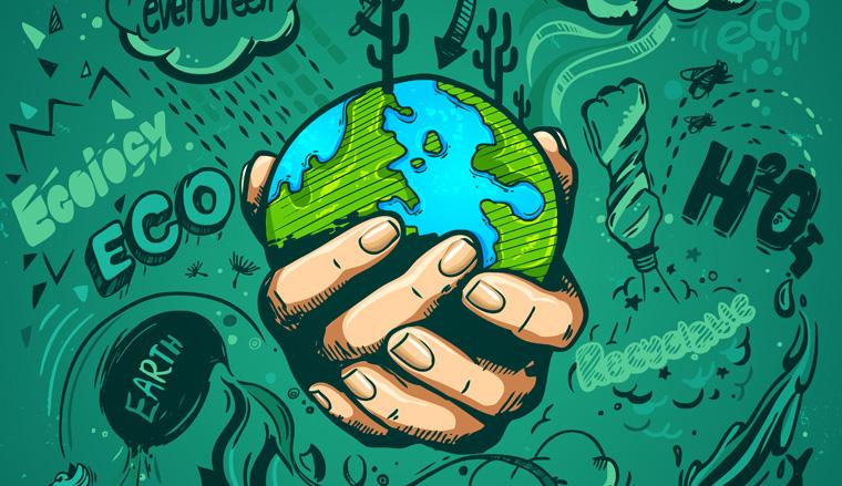 Wir haben nur eine Erde, verbrauchen aber die Ressourcen von anderthalb Planeten.