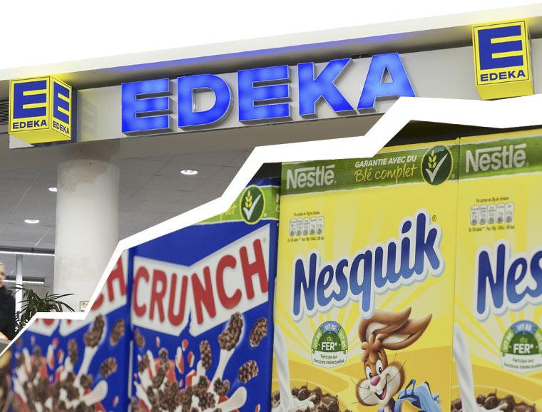 Edeka streicht Nestlé-Waren aus dem Sortiment