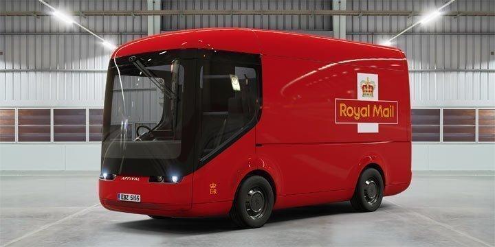 Elektro-Postautos für London