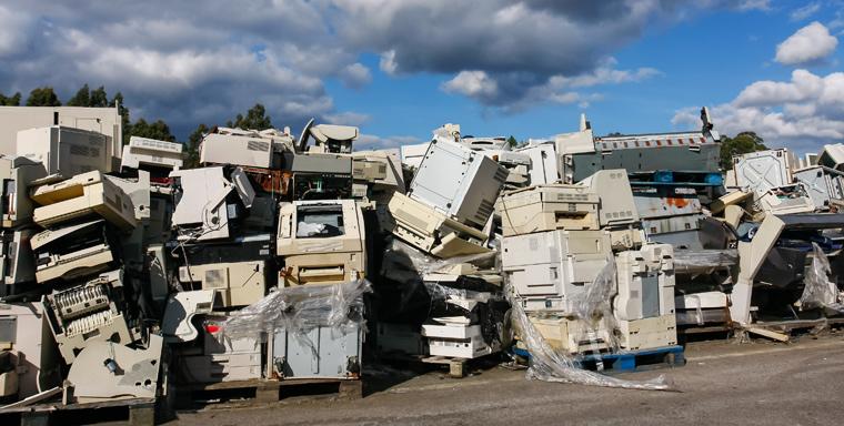Die Schnelllebigkeit der Technikindustrie bringt jedoch auch eine Menge Abfall mit sich.