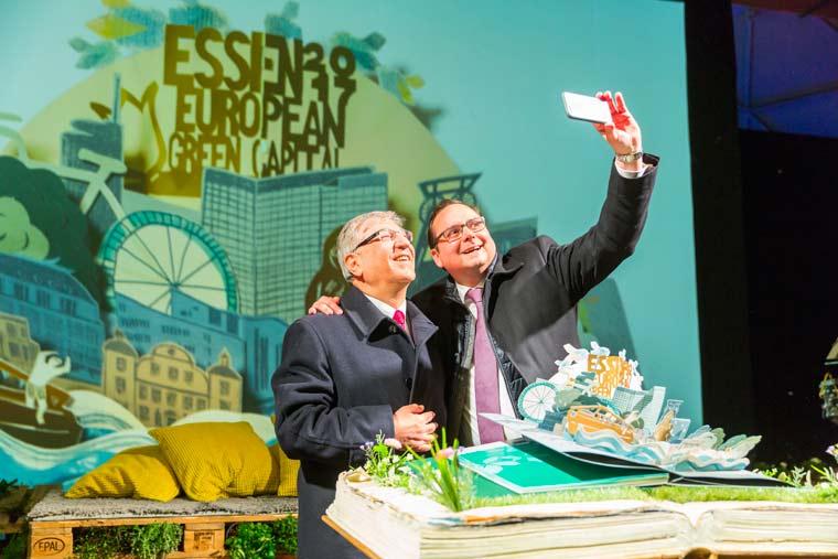 Essen wird grüne Hauptstadt Europas 2017