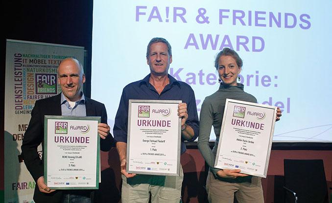 Die Fair Trade Sieger im Einzelhandel 2015