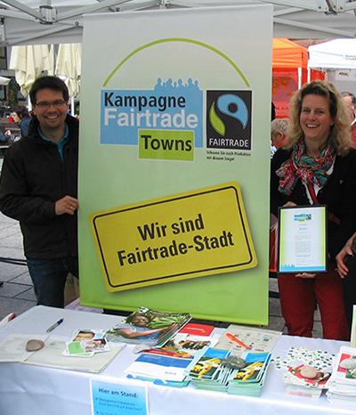 Landeshauptstadt wieder Fairtraide-Sieger