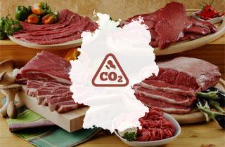 Bundesländer im CO²-Vergleich: Lebensmittelkonsum