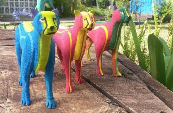 Die Kunst aus Flip Flops Figuren zu erschaffen