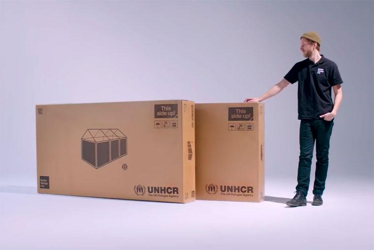 IKEA baut Flüchtlingsunterkünfte