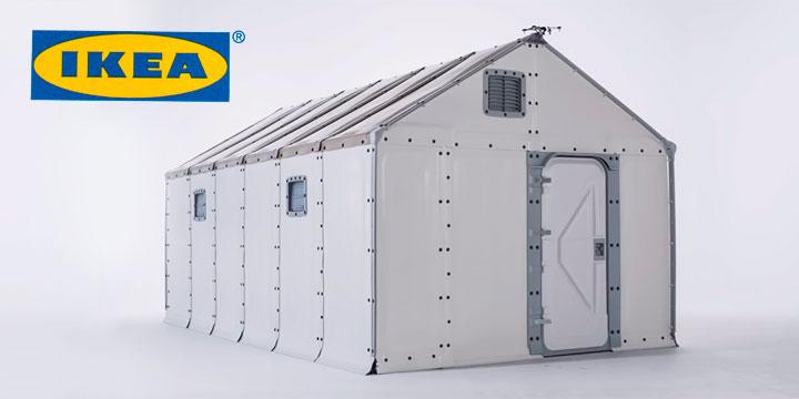 IKEA baut Unterkünfte für Flüchtlinge