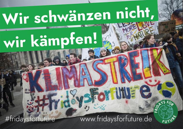 Aufruf zur größten Klima-Jugendbewegung am 15. März