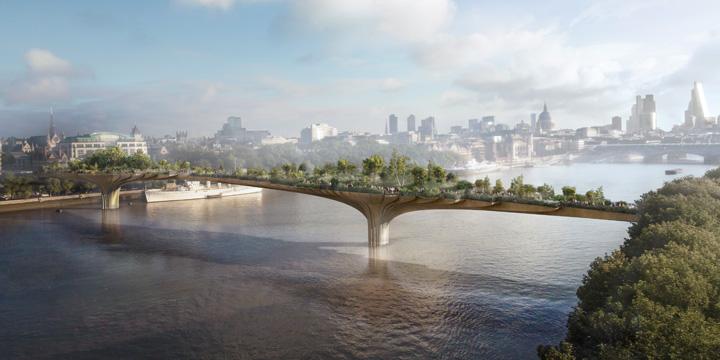 Garden Bridge: Natur als Herzstück Londons