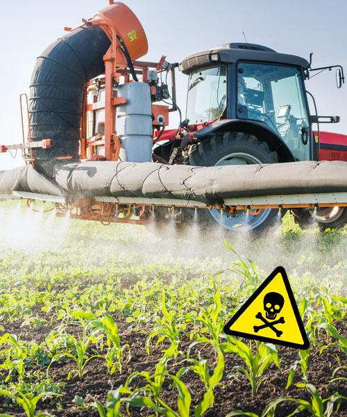 Gesundheitsgefährdendes Glyphosat