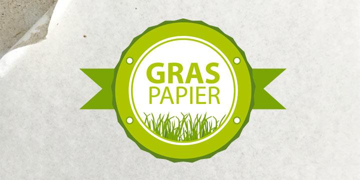 Die neueste nachhaltige Verpackung nennt sich Graspapier