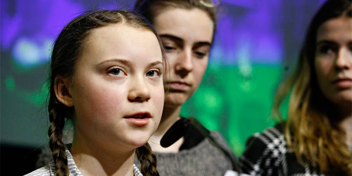 Greta Thunberg – Vorreiterin der größten Jugend-Klimabewegung