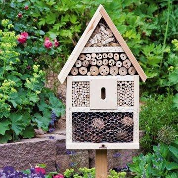 Jetzt ein Insektenhotel aufstellen
