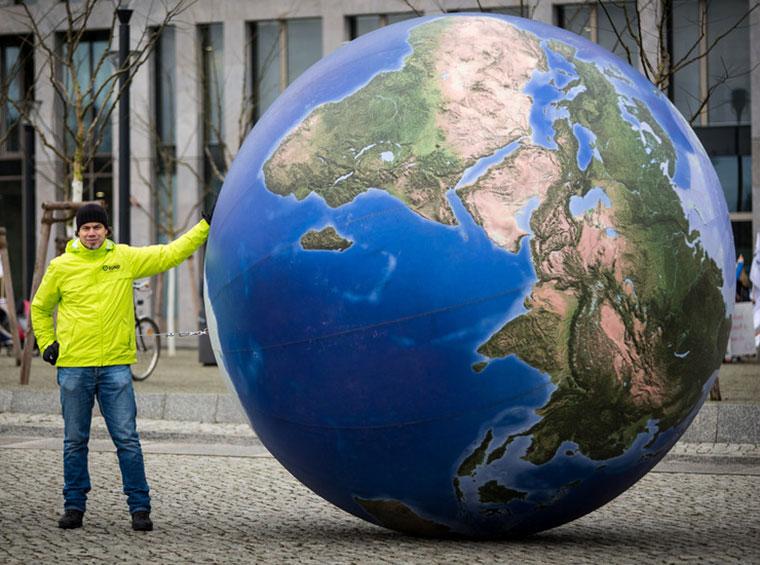 Wir haben nur eine Erde und die müssen wir schützen.