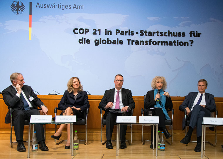 Klimakonferenz in Paris