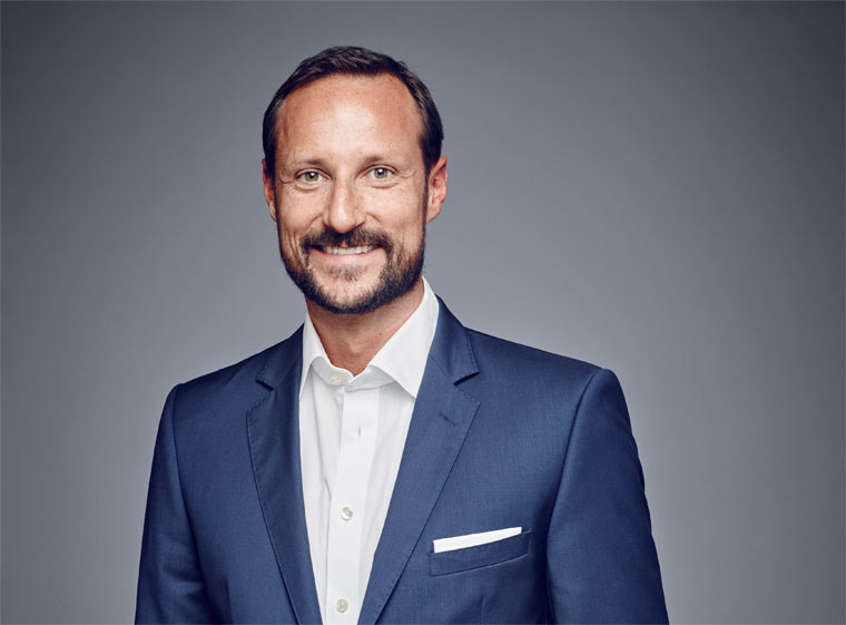 Kronprinz Haakon von Norwegen