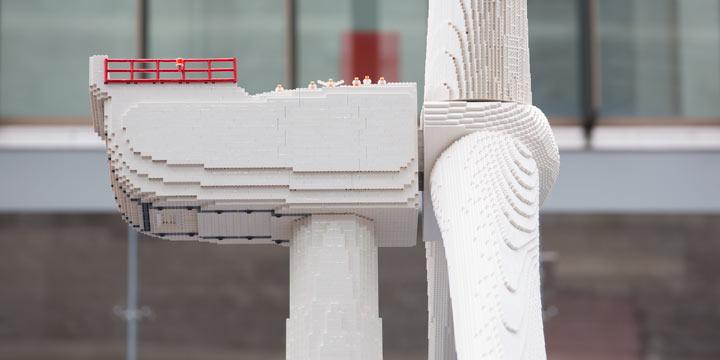 LEGO setzt zu 100% auf erneuerbare Energien