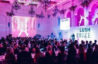 ecowoman beim Lush Prize 2017 – ein Zeichen gegen Tierversuche